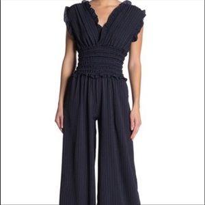 Gorgeous new Max Studio pinstriped jumpsuit